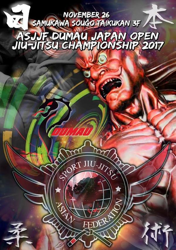 asjjf dumau japan open jiu jitsu championship 2017