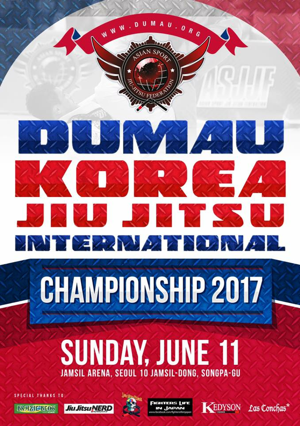 asjjf dumau korea international jiu jitsu tournament 2017