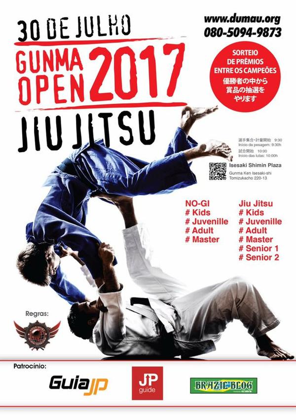 gunma open jiu jitsu tournament 2017
