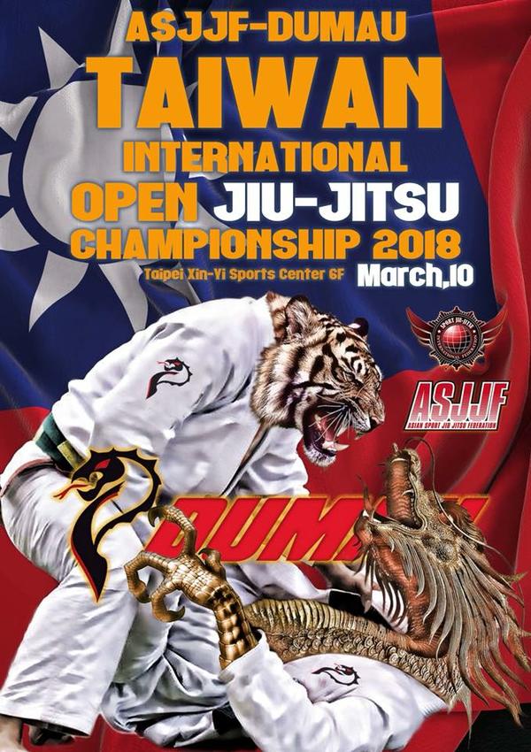 asjjf taiwan international jiu jitsu championship 2018