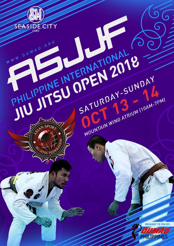 ASJJF PHILIPPINE INTERNATIONAL JIU JITSU OPEN 2018
