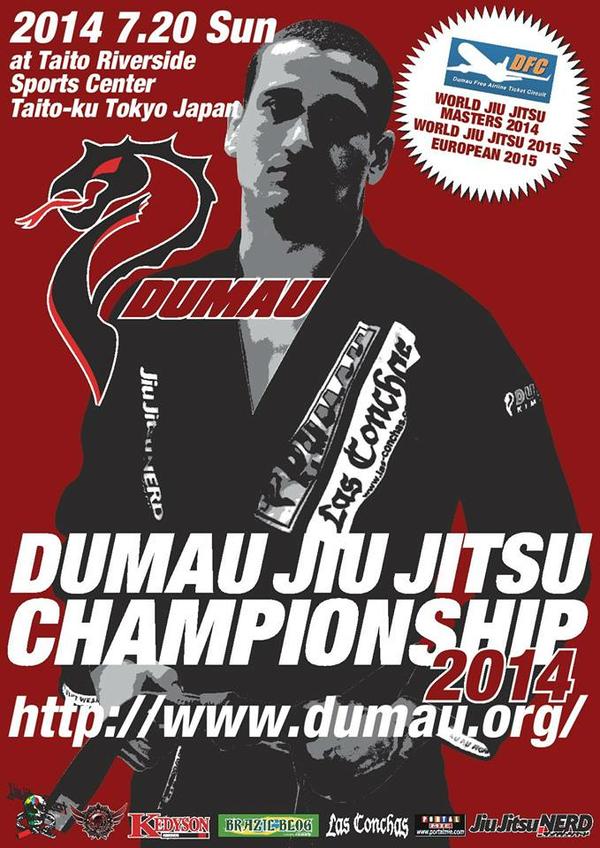 DUMAU JIU JITSU CHAMPIONSHIP 2014 Poster