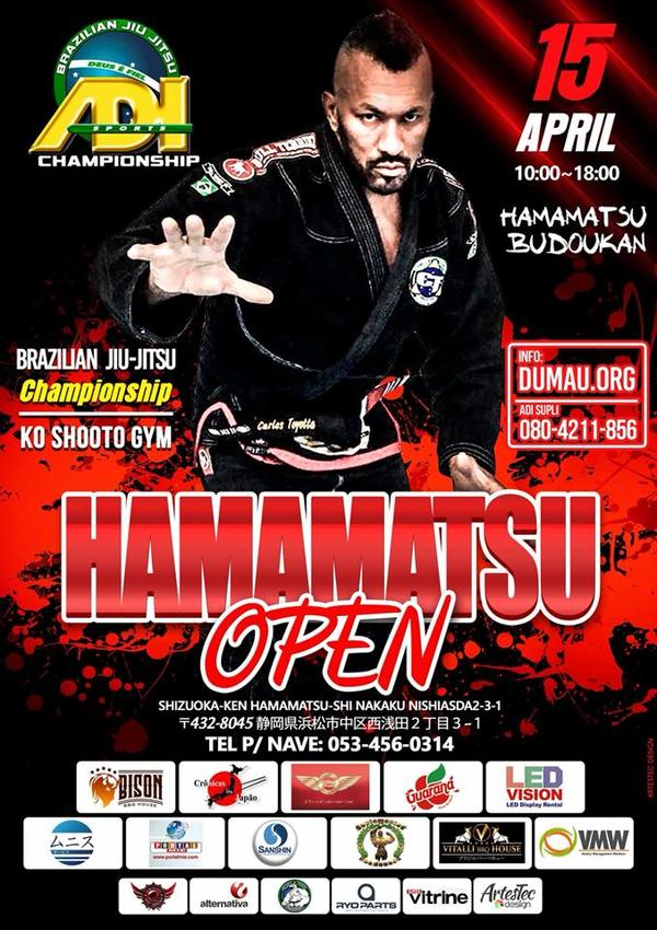 hamamatsu open jiu jitsu championship 2018