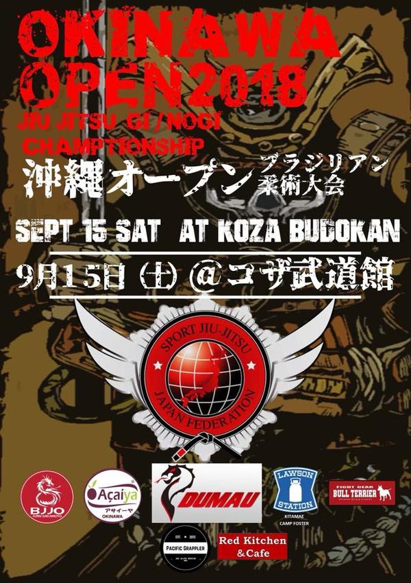 OKINAWA OPEN JIU JITSU CHAMPIONSHIP 2018