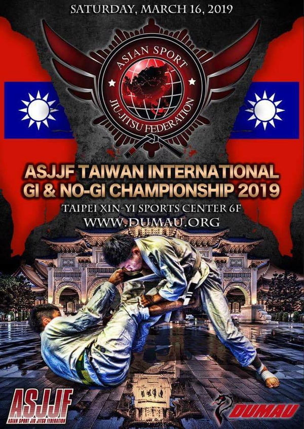 asjjf taiwan international no-gi championship 2019