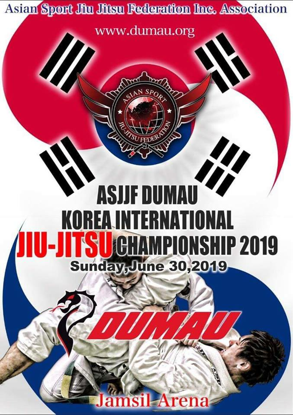 asjjf dumau korea international jiu jitsu championship 2019