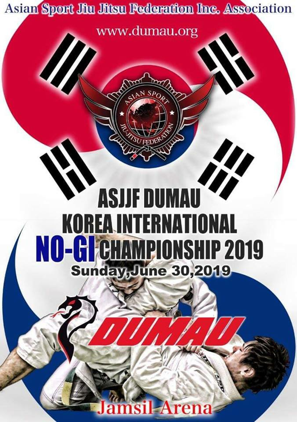 asjjf dumau korea international no-gi championship 2019