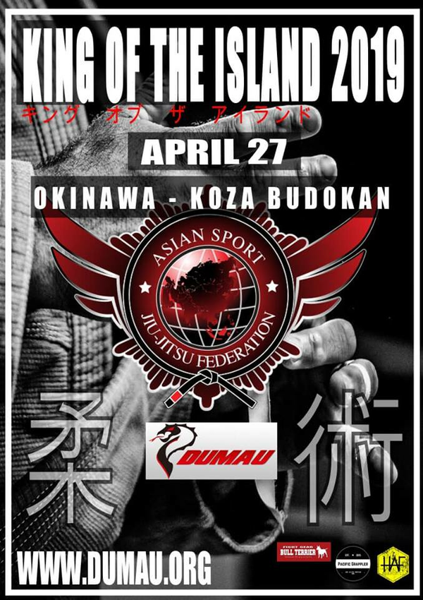 KING OF THE ISLAND OKINAWA 2019 Poster