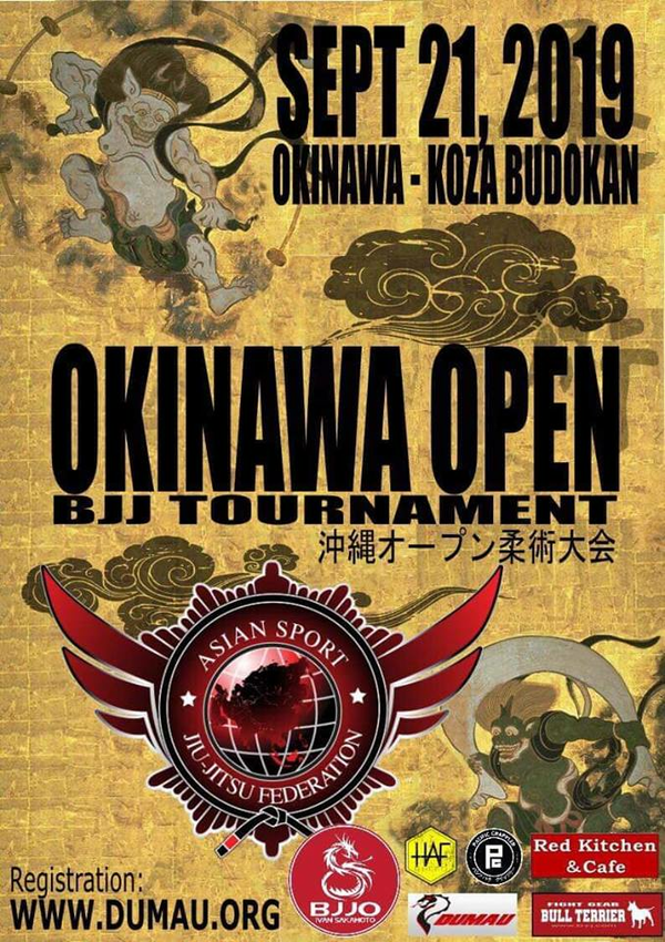OKINAWA OPEN 2019 Poster