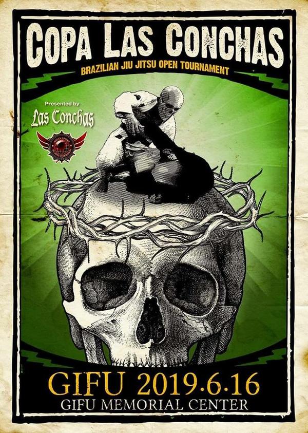 COPA LAS CONCHAS NO-GI  GIFU Poster