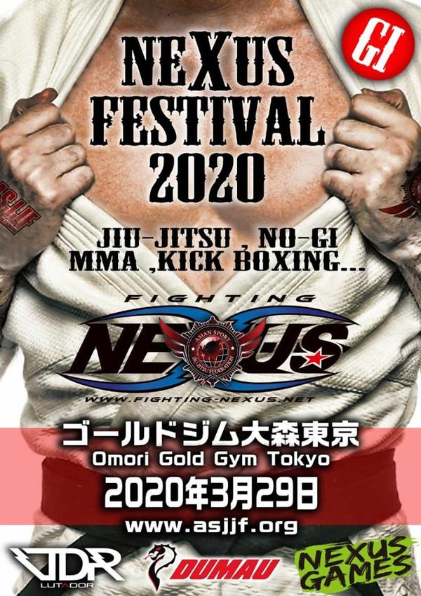 nexus jiu jitsu festival 2020