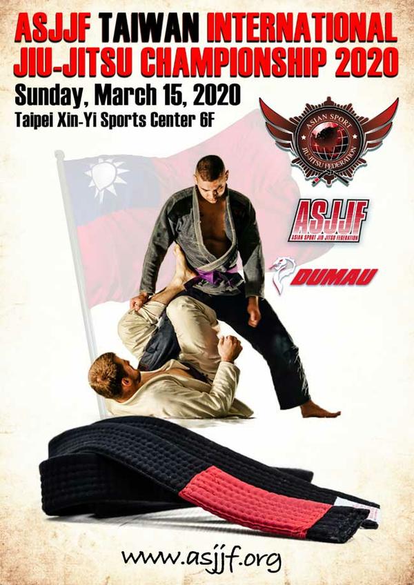 asjjf taiwan international jiu jitsu championship 2020