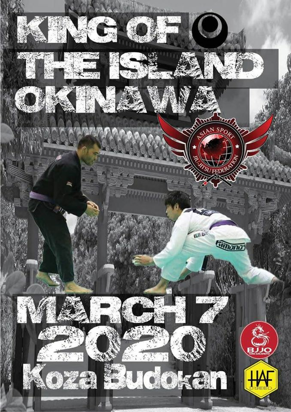 king of the island okinawa jiu jitsu championship 2020