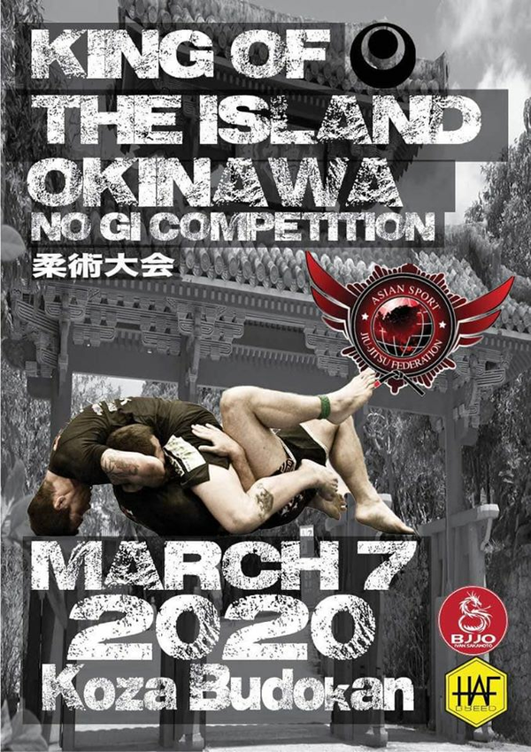 king of the island okinawa no-gi championship 2020