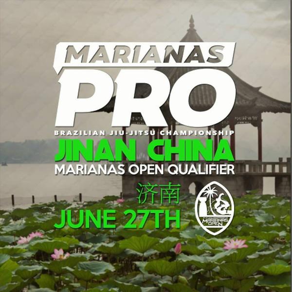 MARIANAS PRO CHINA Poster