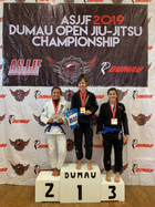 FEMALE BLUE ADULT Open Weight  Podium Photos
