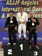 MALE BROWN MASTER 1 Open Weight  Podium Photos