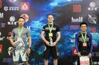 MALE BLUE ADULT Open Weight  Podium Photos