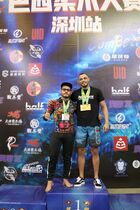 MALE BLACK ADULT Open Weight  Podium Photos