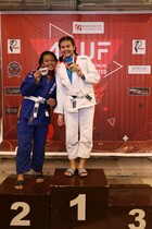 FEMALE WHITE JUNIOR TEEN Heavy  Podium Photos