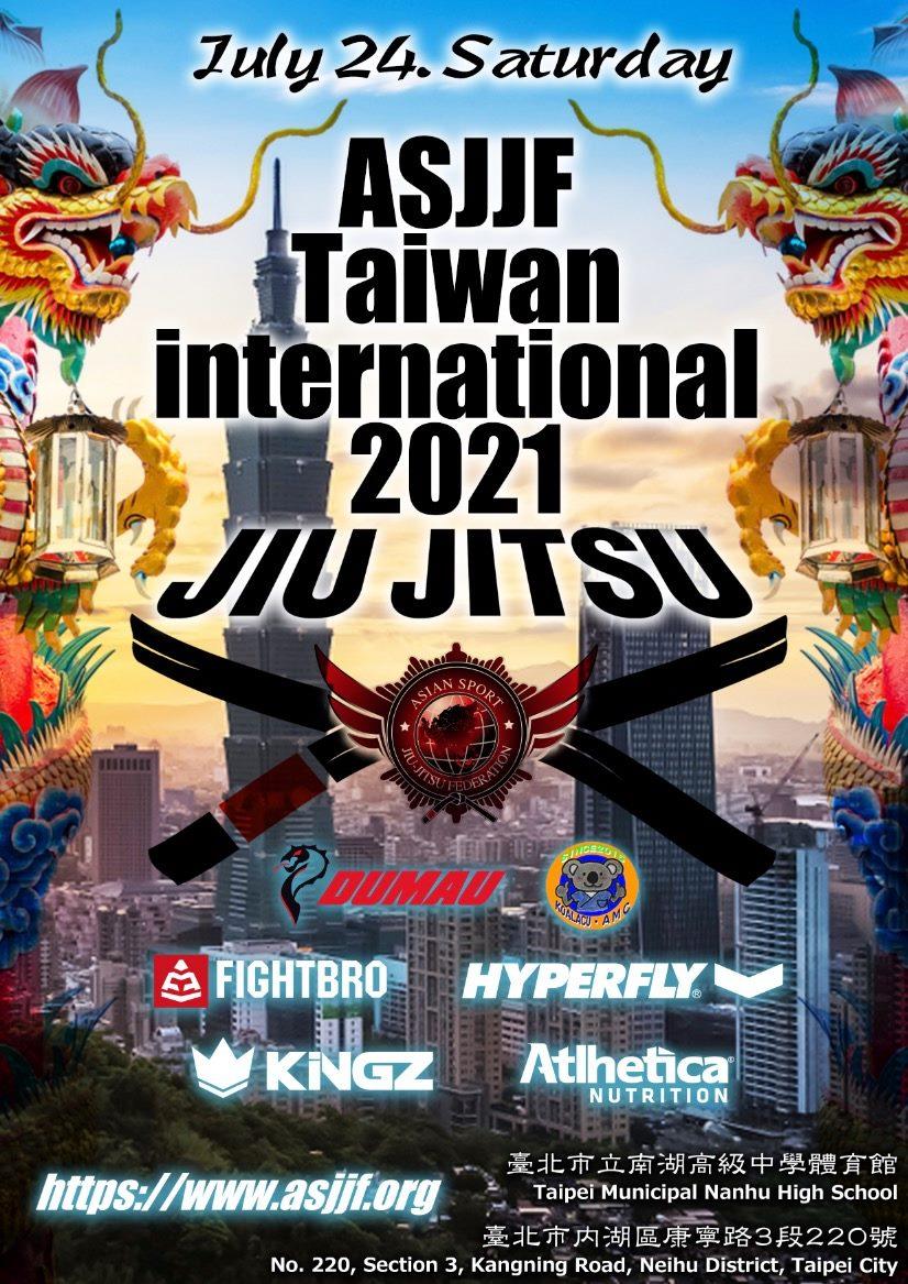 asjjf taiwan international jiu jitsu championship 2021