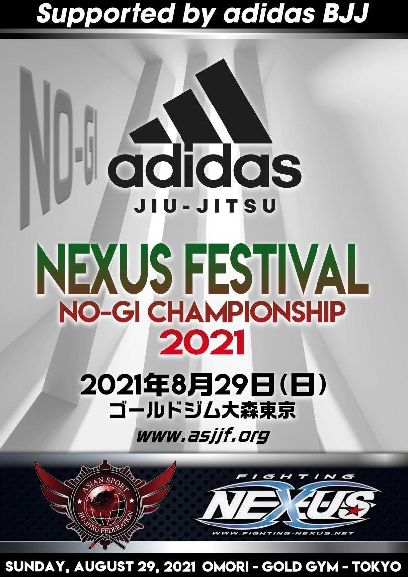 NEXUS FESTIVAL NO-GI CHAMPIONSHIP 2021